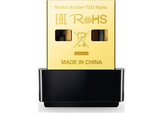 Беспроводной адаптер TP-Link Archer T2U Nano (AC600, mini)