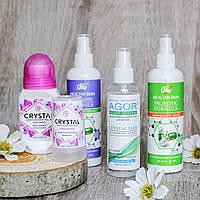 Натуральные и безопасные дезодоранты