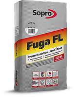 Sopro FL - Широка еластична затирка з трасом 2-20 мм 25 кг