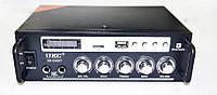 Усилитель звука UKC SN-838BT USB + SD + AUX + Bluetooth + Караоке, фото 1