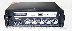 Підсилювач звуку UKC SN-838BT USB + SD + AUX + Bluetooth + Караоке