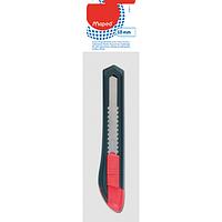 Нож канцелярский Maped Start 18 мм серый с красным