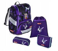 Шкільний рюкзак для дівчаток Hama Step By Step Pegasus Dream + 2 пенала + сумка для спортивного взуття