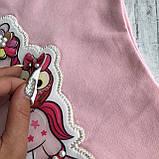 Детское платье Breeze рисунок 3D. Размер 98 см(3года), 104 см(4года), 110 см(5лет), 116 см(6 лет), 128 см(8лет, фото 5