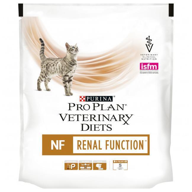 Pro Plan Veterinary Diets Feline NF Renal Function для взрослых кошек при патологии почек, 0.35кг