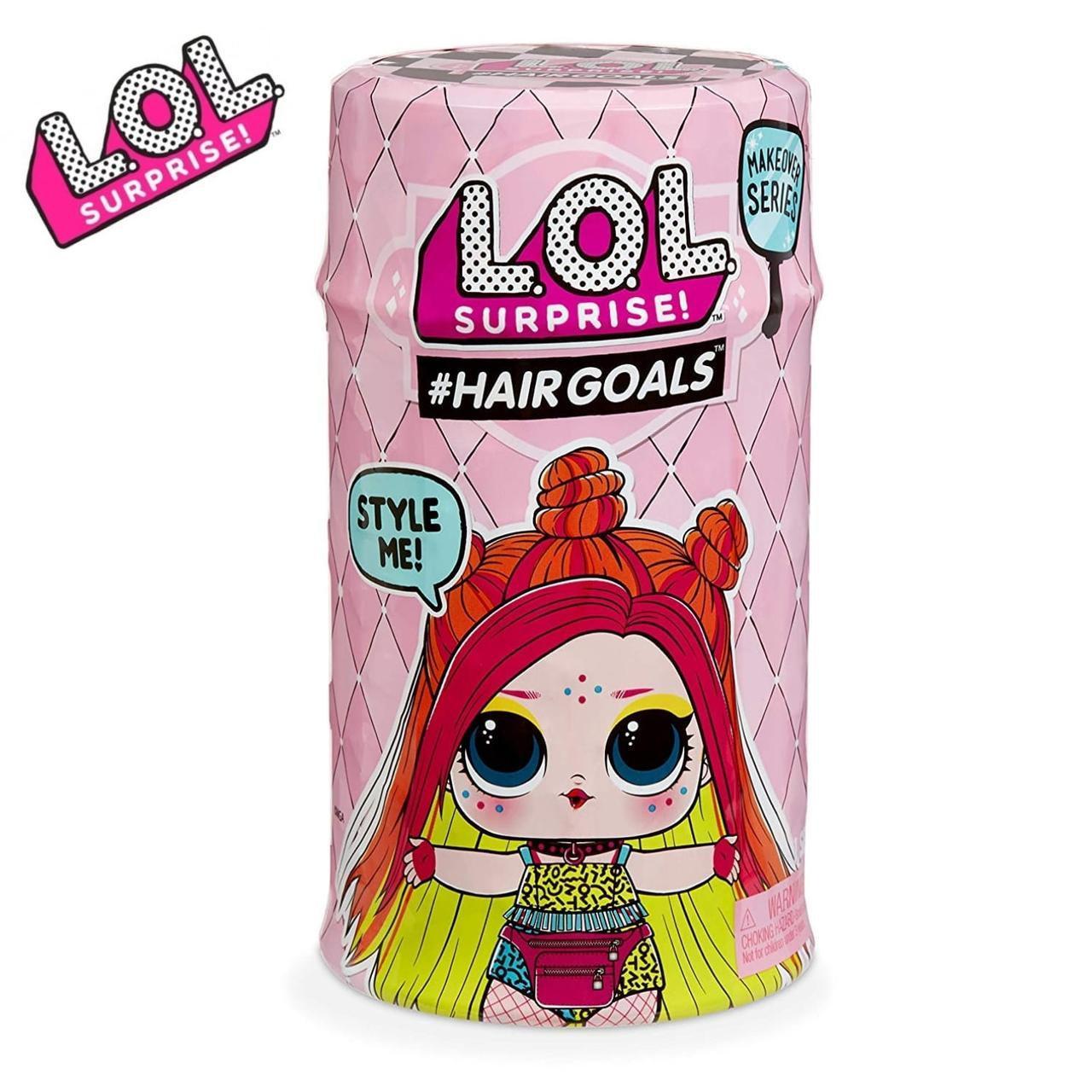 Оригинал L.O.L. Surprise Hairgoals 5 сезон S5 W2 Капсула ЛОЛ с волосами 556220-W2