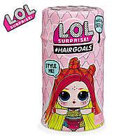 Оригинал L.O.L. Surprise Hairgoals 5 сезон S5 W2 Капсула ЛОЛ с волосами 556220-W2, фото 1