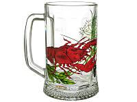 Кружка для пива Ладья рак к пиву