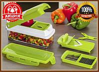 Универсальная овощерезка найсер дайсер плюс, Мультирезка nicer dicer plus, ручной измельчитель, Універсальна овочерізка, фото 1
