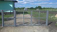 Ворота из сетки Рабица