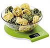 Кухонные электронные весы до 5кг MAGIO MG-293 зеленые,  настольные весы
