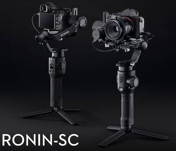Стедикам DJI Ronin-SC новый компактный стабилизатор для беззеркальных камер (CP.RN.00000040.01)