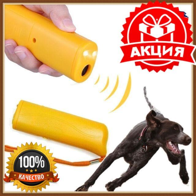 Ультразвуковой отпугиватель собак AD-100, обучения домашних собак, Портативный отпугиватель собак, відпугувач собак, фонарик