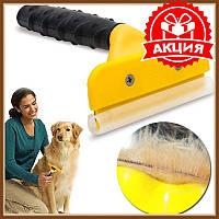 Фурминатор для вычесывания шерсти, Щетка для животных, расческа для шерсти, щетка для вычесывания шерсти