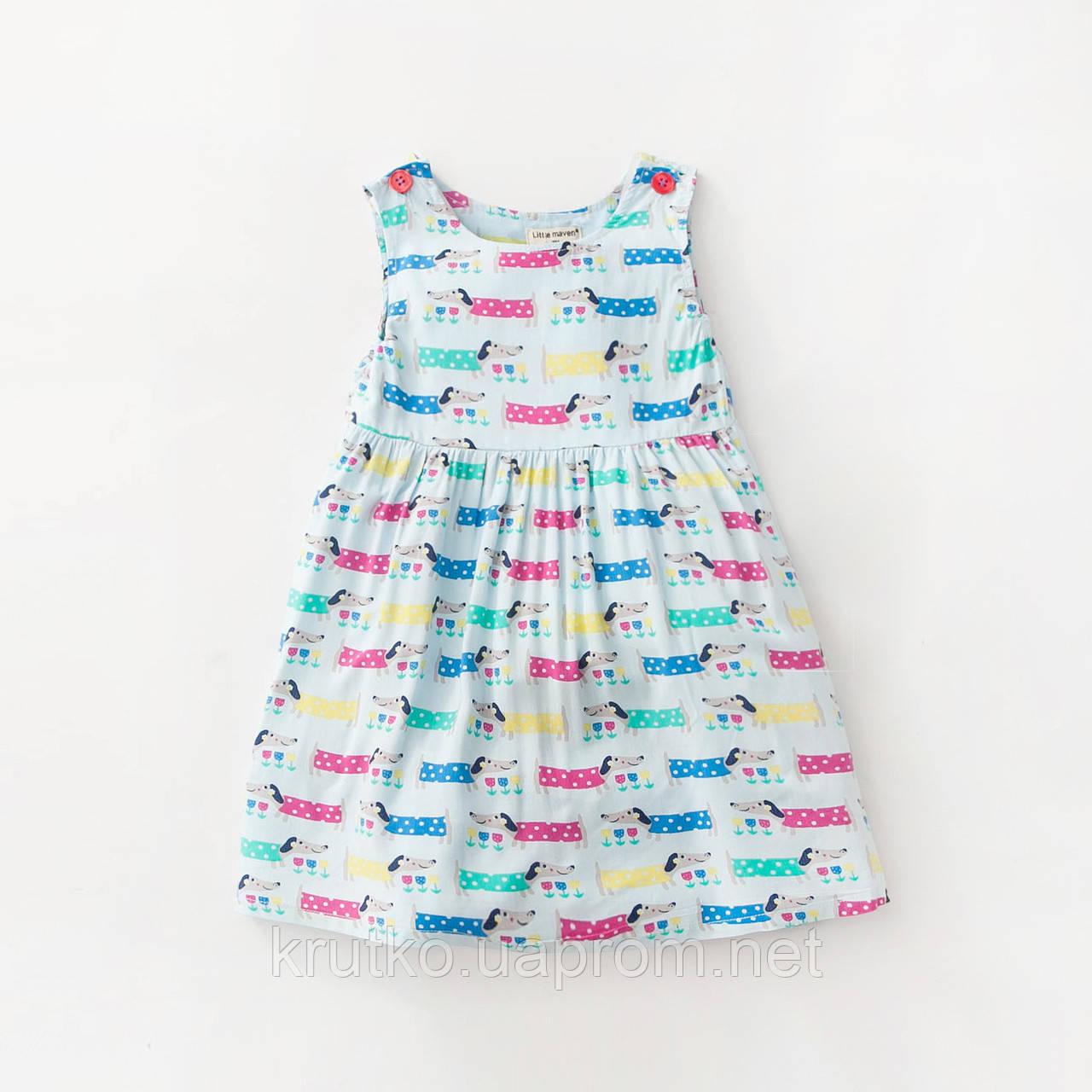Платье для девочки Песики Little Maven