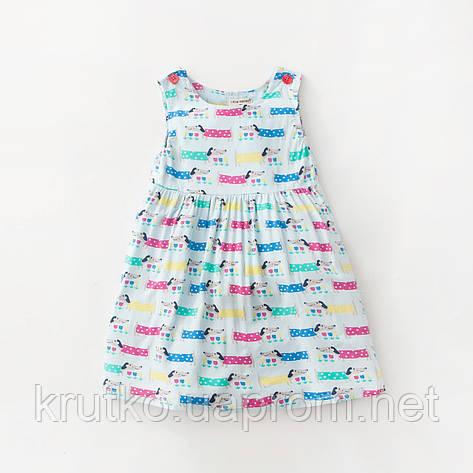 Платье для девочки Песики Little Maven, фото 2