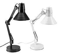 Настольная лампа сгибающая (черная или белая )