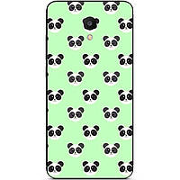Чехол силиконовый с картинкой для Meizu М6S Узор панды