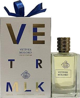 Женская парфюмированная вода Vetiver Moloko 100ml. Fragrance World.(100% ORIGINAL)