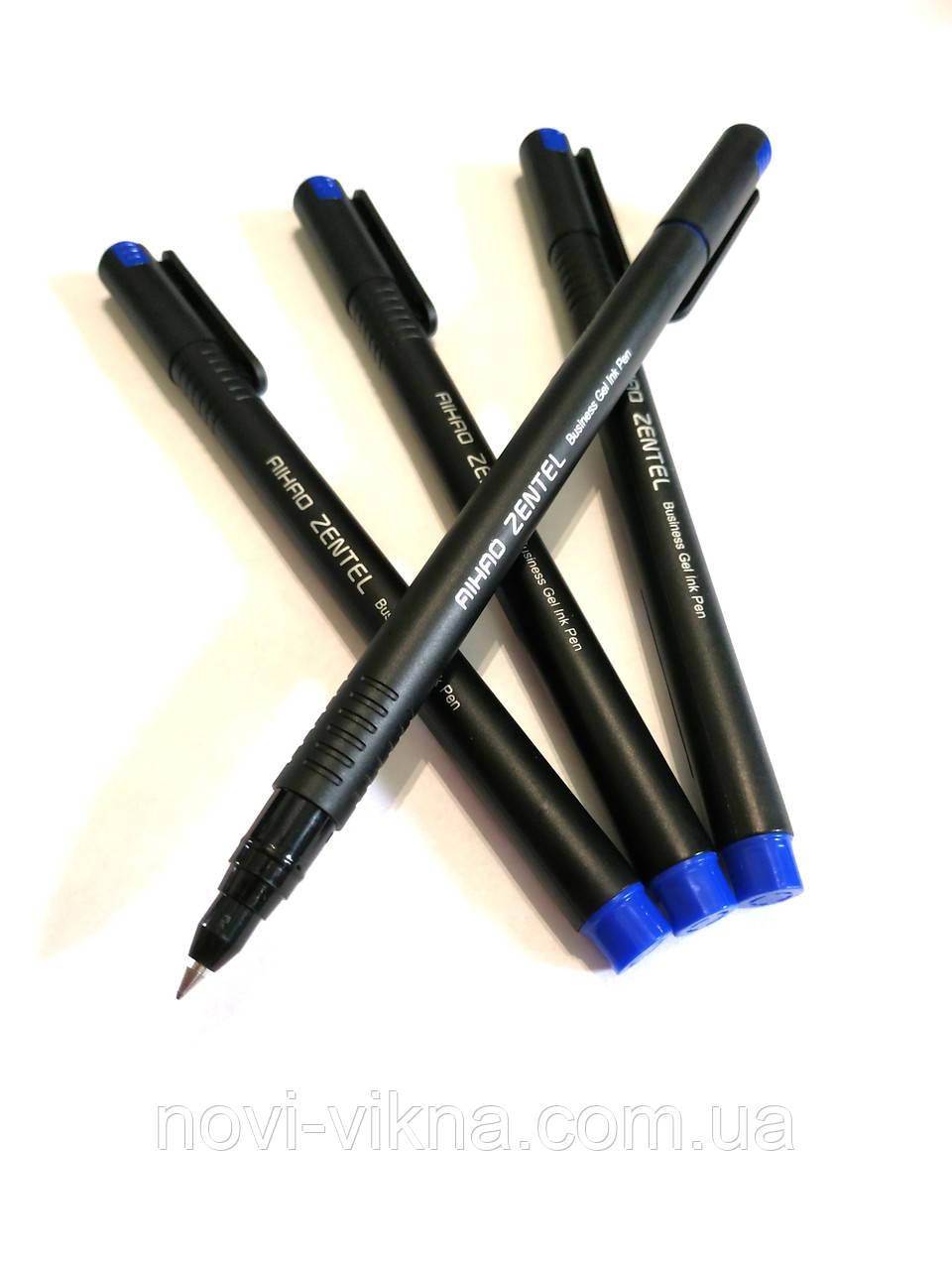 Ручка гелевая AIHAO ZENTEL, синяя.