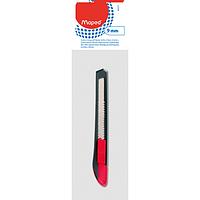 Нож канцелярский Maped Start 9 мм серый с красным