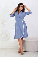 Платье женское летнее из  тонкой летней ткани размеры 46-56.