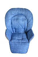 Чехол к стульчику для кормления Capella Piero Fabula под голубой джинс, фото 1