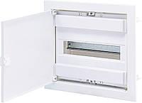 Щит металопластиковий ECG14 (12+2мод. метал. белые дверки) ETI