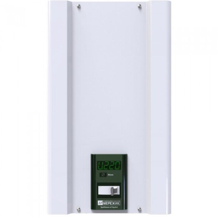 Мережик 9 - на 11000 Вт - симисторный стабилизатор для квартиры, офиса, дачи или дома.