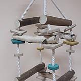 Игрушка для попугая объемная лесенка, фото 2