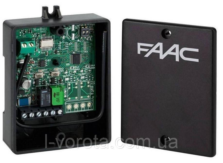 FAAC XR2 433C внешний двухканальный приемник