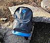 Стильный рюкзак NIKE (Найк). Серый с голубым., фото 6