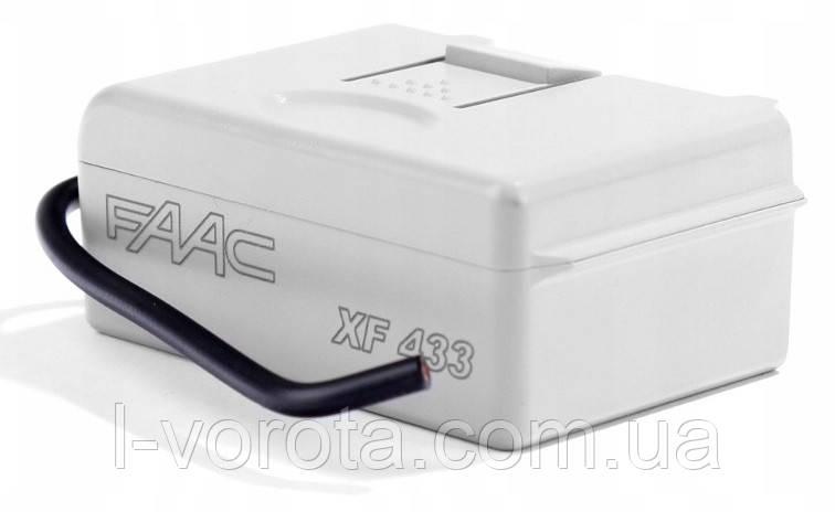 FAAC XF 433 встраиваемый приемник