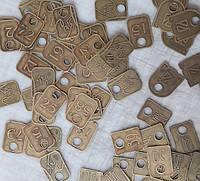 Таблички латунь изготовление