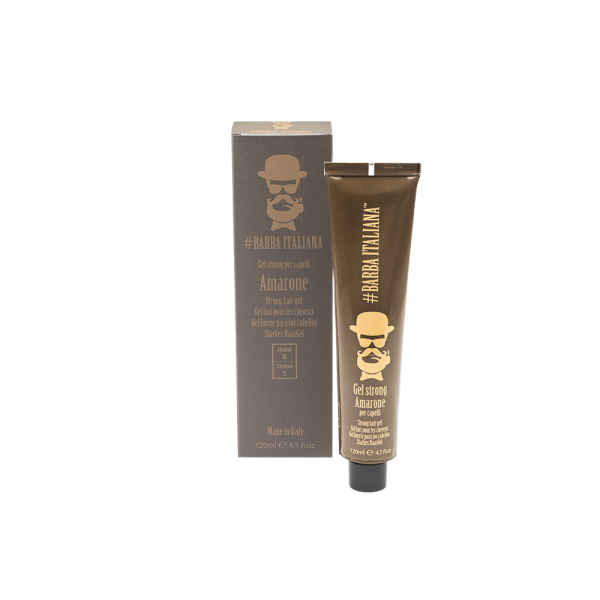 Barba Italiana Гель для волос сильной фиксации Amarone 120 мл.