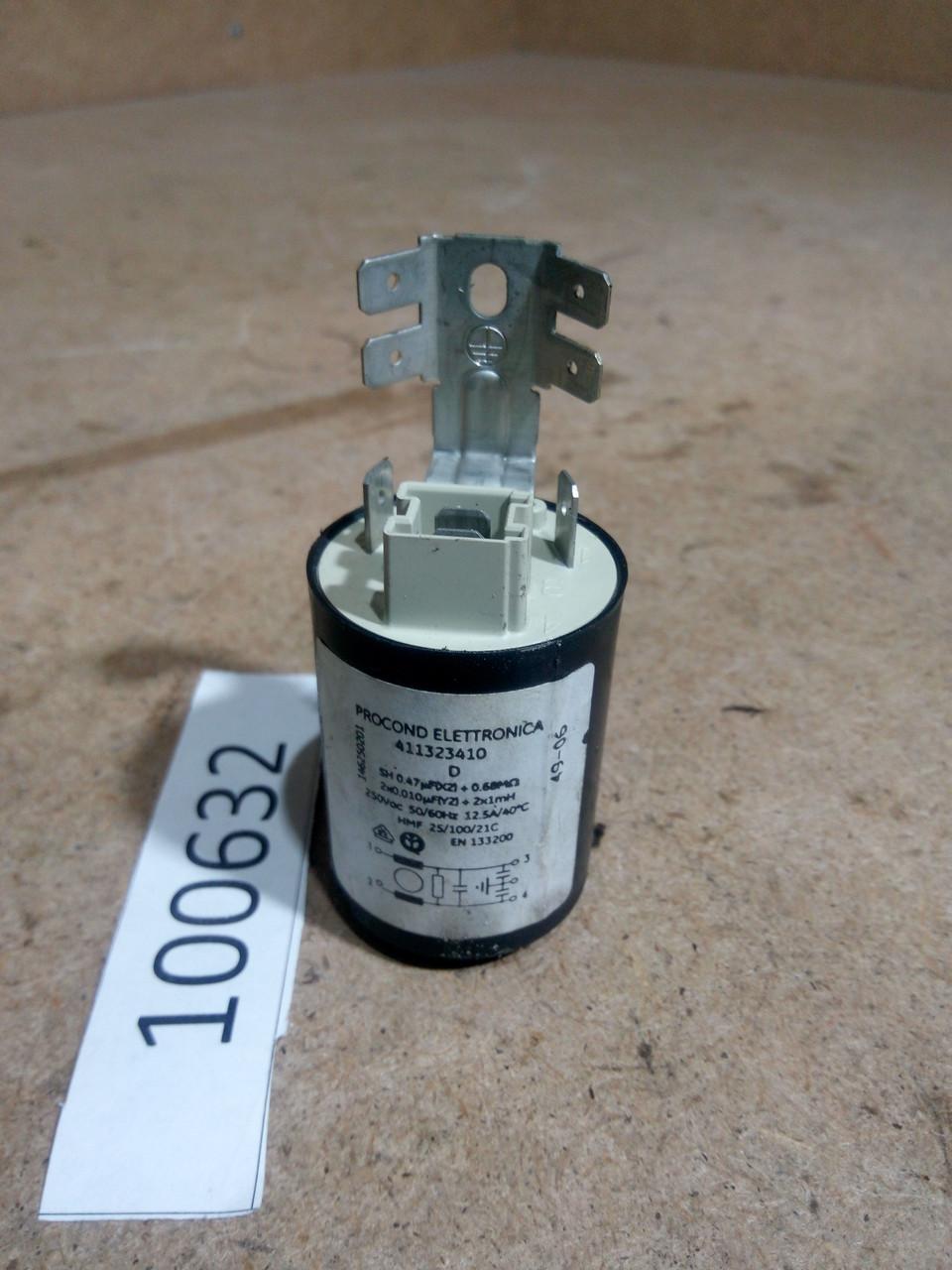 Сетевой фильтр  Zanussi ZWT385. 146250201, 411323410  Б/У