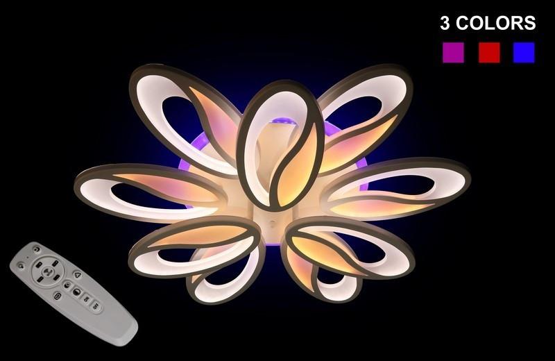 Люстра Припотолочная 5565/6+3 color led dimmer