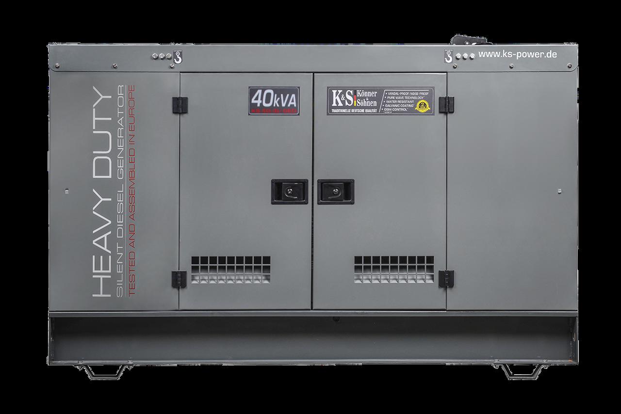 Генератор дизельный Konner&Sohnen KS 40-3I/GED (32 кВт)