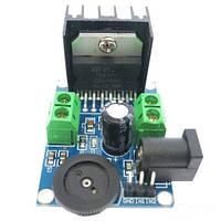 Усилитель звука НЧ на TDA7297 12V 2x15W
