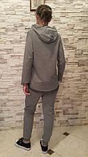 Костюм турецкий для девочек 128,140,152 роста Zelish серый, фото 3