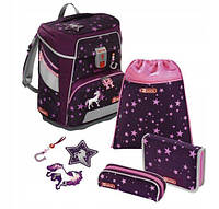 Шкільний рюкзак для хлопчиків HAMA Step By Step Кінь + 2 пенала + сумка для спортивного взуття