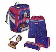 Шкільний рюкзак для дівчаток HAMA Step By Step Кінь + 2 пенала + сумка для спортивного взуття