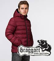 Braggart Aggressive 18680 | Короткая зимняя куртка бордовая