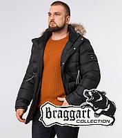 Braggart Aggressive 19833 | Зимняя куртка с опушкой графит