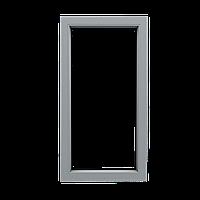 Металлопластиковое окно. Глухое, 500х1000, профиль S300 (3-камерный), стеклопакет с энергосберегающим стеклом.