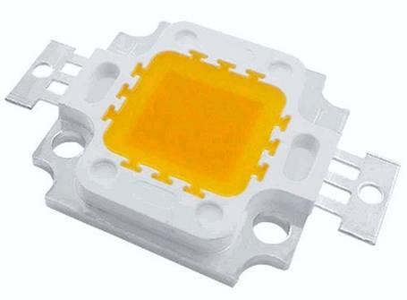 Светодиод 10 Вт белый теплый, фото 2