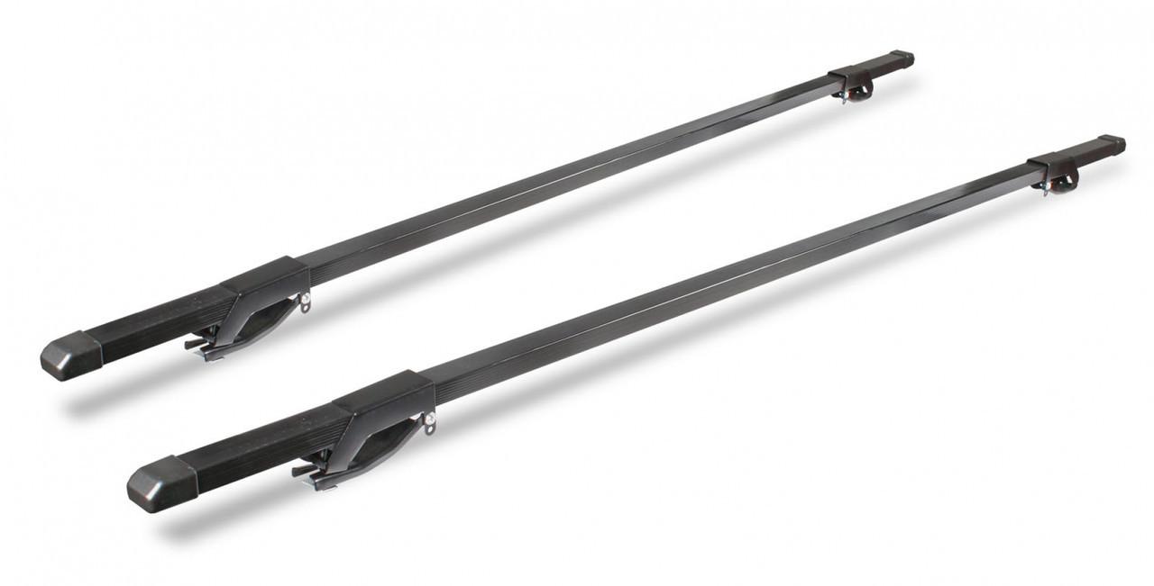 Багажник универсальный на рейлинги (сталь, прямоугольный профиль), 160 см
