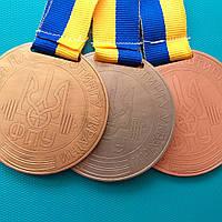 Медалі на замовлення золото, срібло, бронза ФПУ