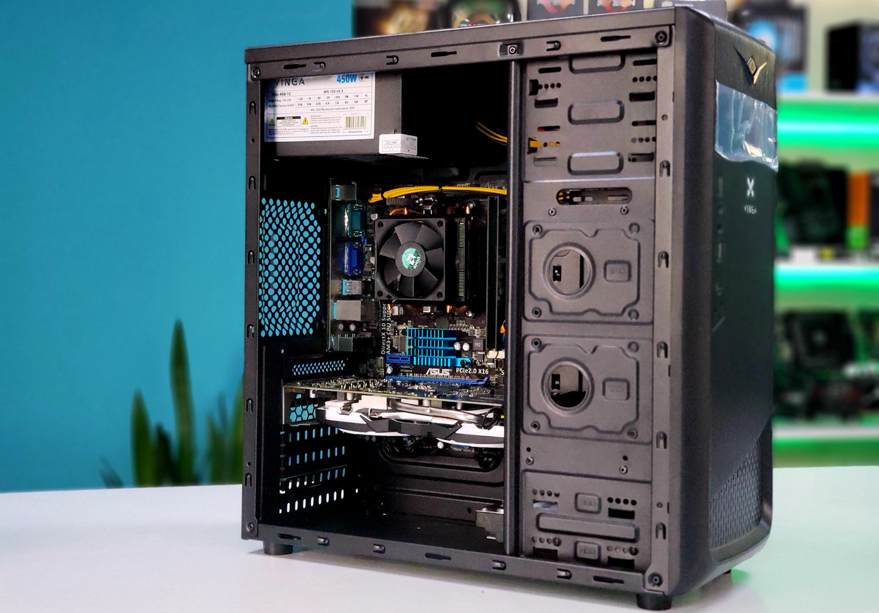"Игровая сборка ""Lite Game"" FX 6100 | AMD 760G | RX470 4GB | DDR3 4GB | HDD 500GB | 450W Б/У V.2"