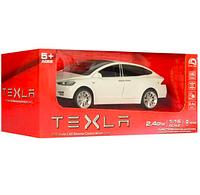 Машинка на радиоуправлении Tesla Model X (белая)